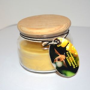 Natural Beeswax Candle NEW